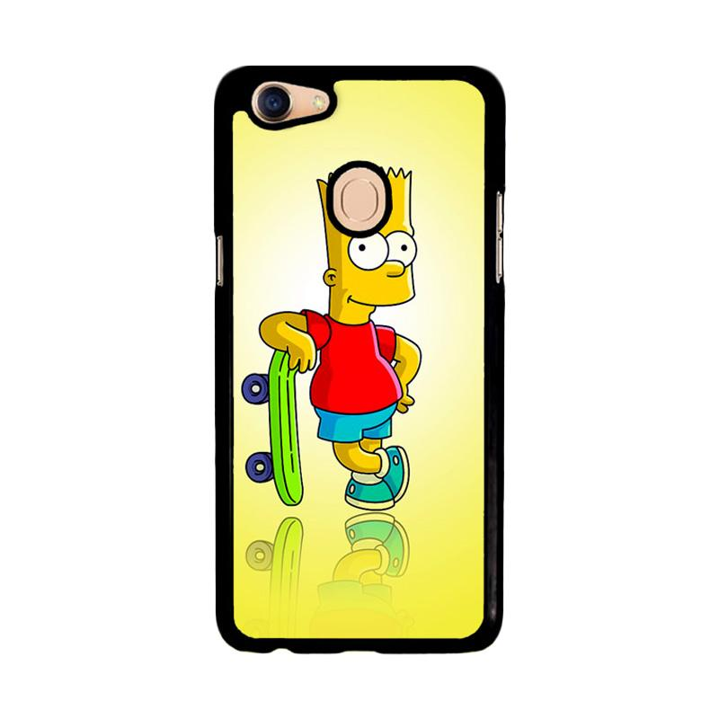 Flazzstore Bart Simpsons Z1606 Custom Casing for Oppo F5