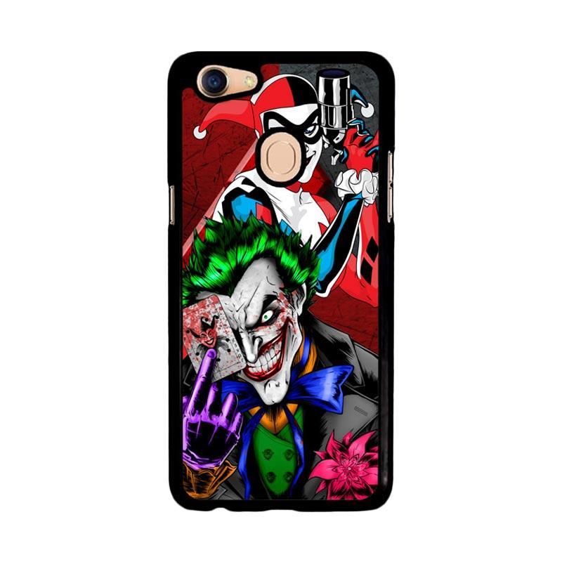 Flazzstore The Joker Harley Quinns Revenge Z2258 Custom Casing for Oppo F5