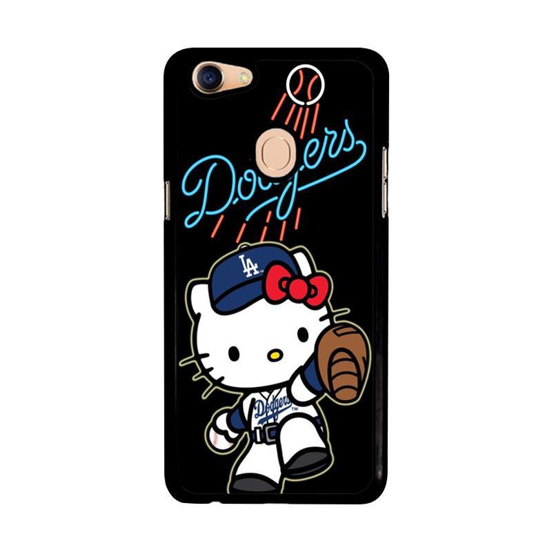 Flazzstore La Dodgers Hello Kitty Z3306 Custom Casing for Oppo F5