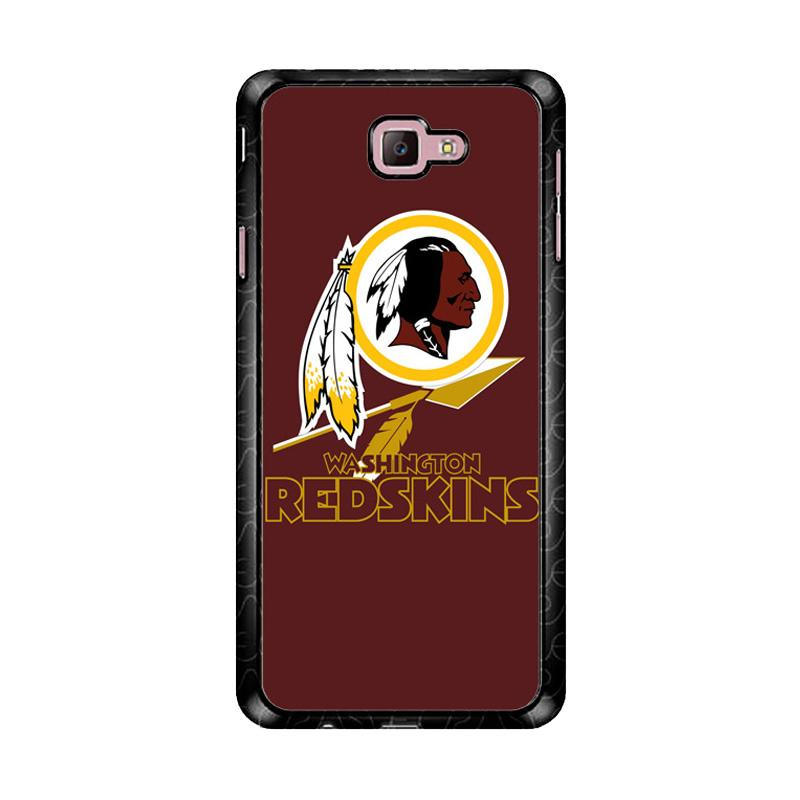 Flazzstore Washington Redskins Logo Z3331 Custom Casing for Samsung Galaxy J7 Prime