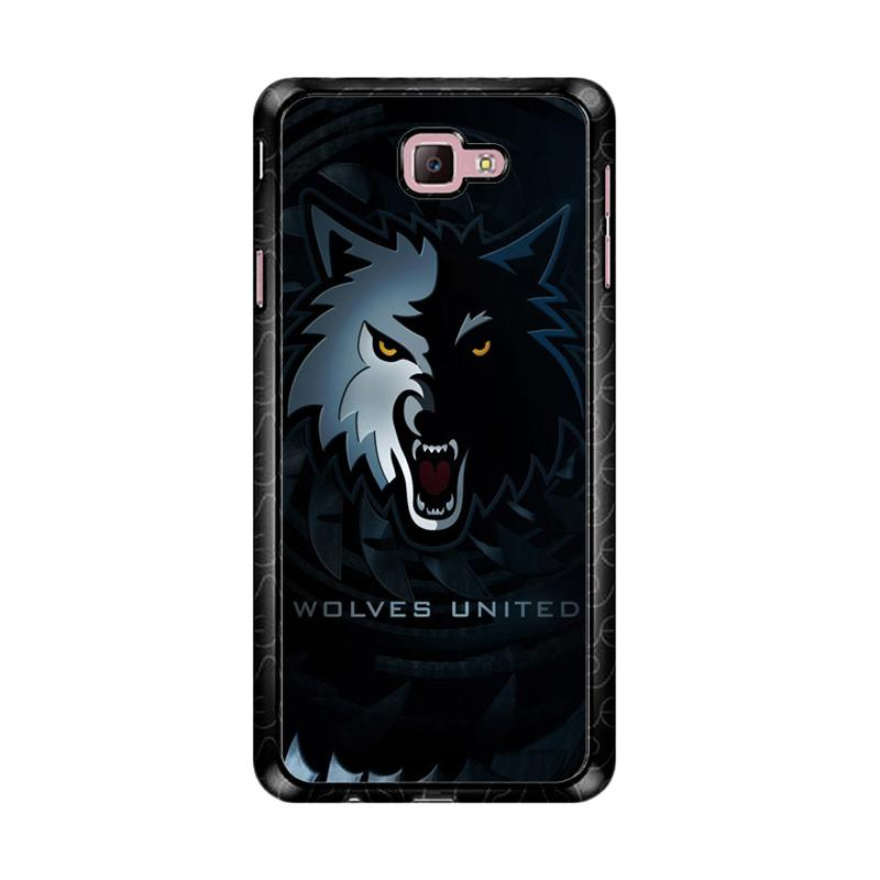Flazzstore Wolves United Z4159 Custom Casing for Samsung Galaxy J7 Prime