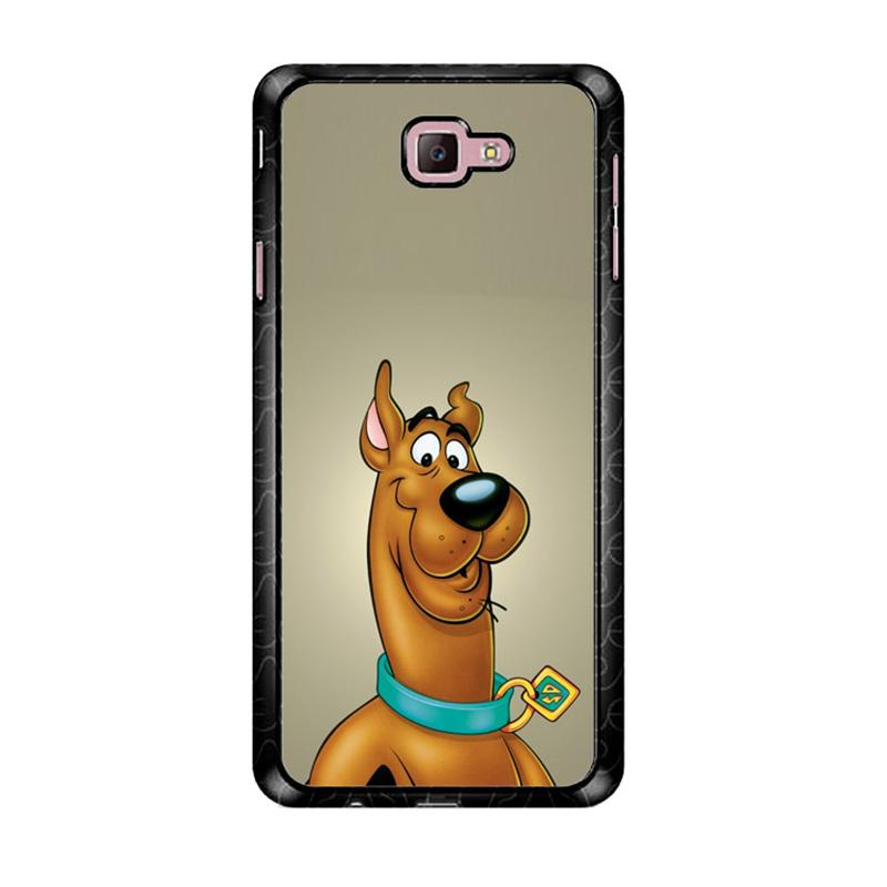 Flazzstore Scooby Doo Face Z4301 Custom Casing for Samsung Galaxy J7 Prime