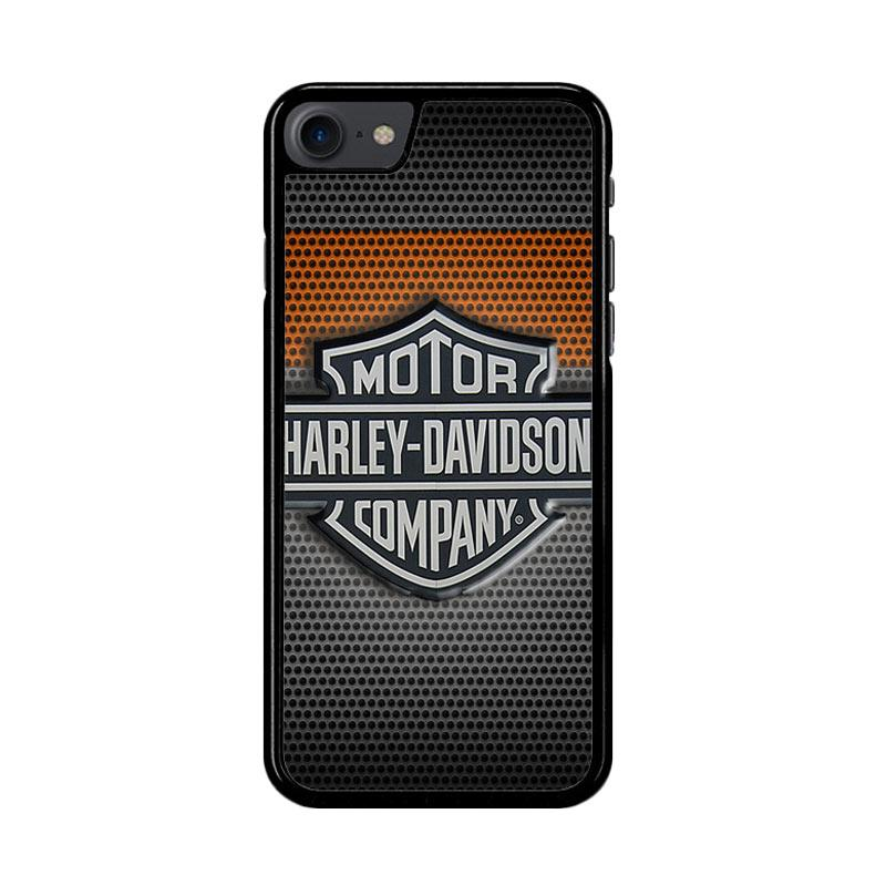 Flazzstore Motor Harley Davidson Logo Z4053 Custom Casing for iPhone 7 or 8