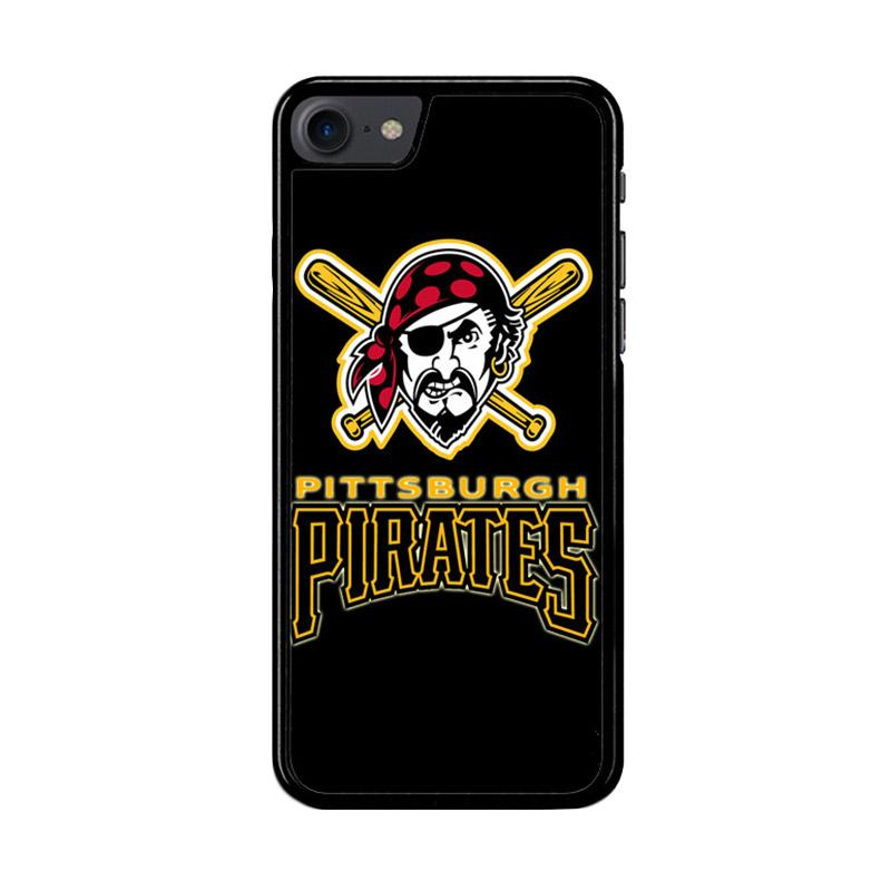 Flazzstore Pittsburgh Pirates Logo Z4122 Custom Casing for iPhone 7 or 8