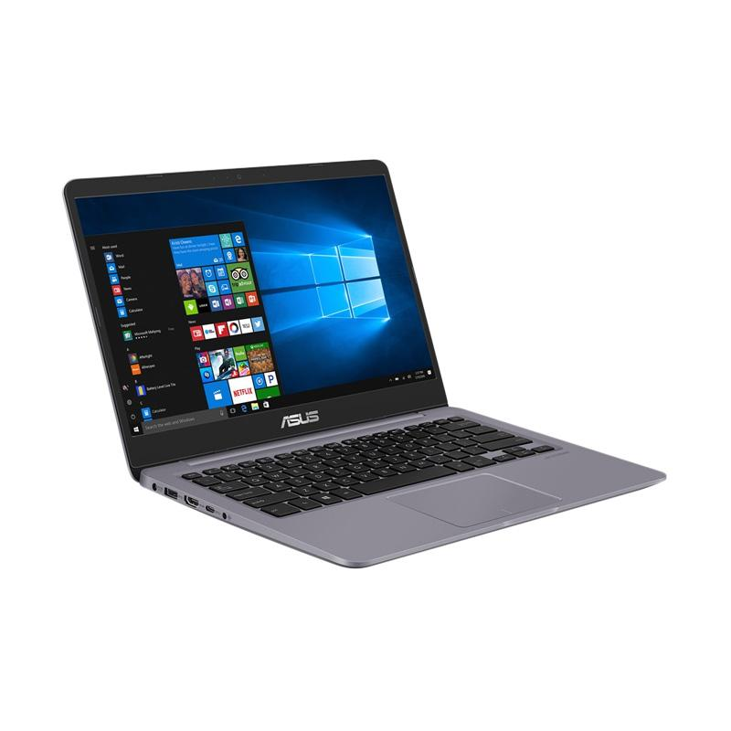 Asus S410UN-EB068T Notebook - Gray Metal [i5-8250U/8GB/1TB+128GB SSD/GeForce MX150 4GB/Non DVD/14