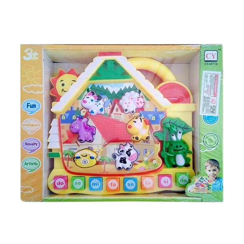 CY 6071B Binatang Paradise Music Piano Mainan Anak