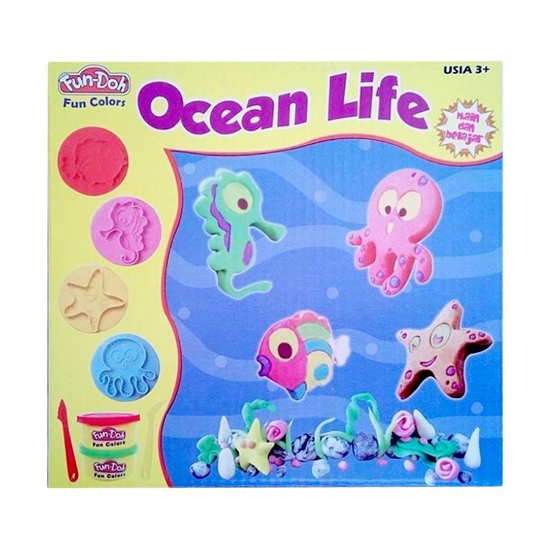 Fun Doh Ocean Life mainan Anak