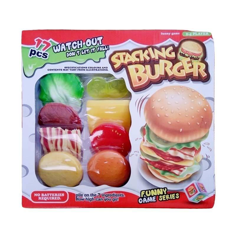 OEM 800-2 Stacking Burger Mainan Anak