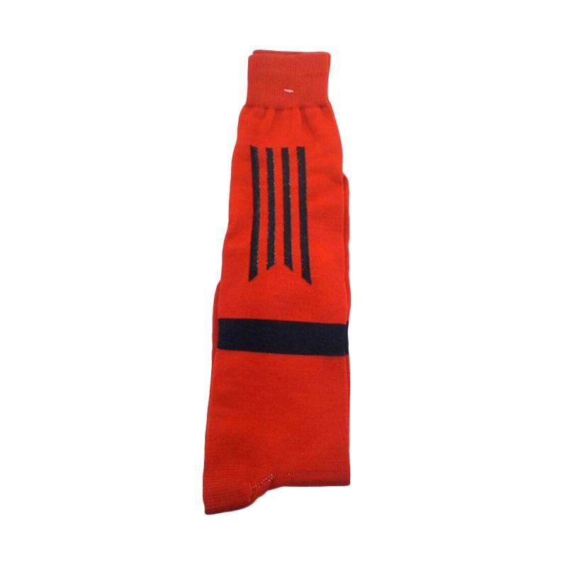 Solidex Kaos Kaki Sepakbola Dewasa - Merah