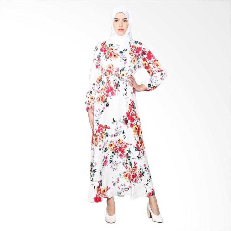 Rauza Rauza Adler Dress Muslim - Putih