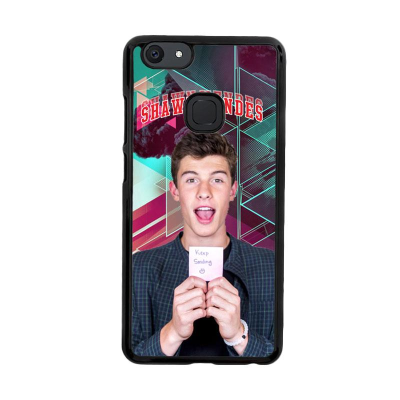 Flazzstore Shawn Mendes Triangle Background Z2106 Custom Casing for Vivo V7 Plus