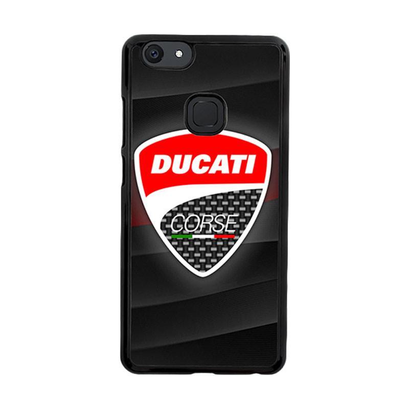 Flazzstore Ducati Corse Logo Z3276 Custom Casing for Vivo V7 Plus