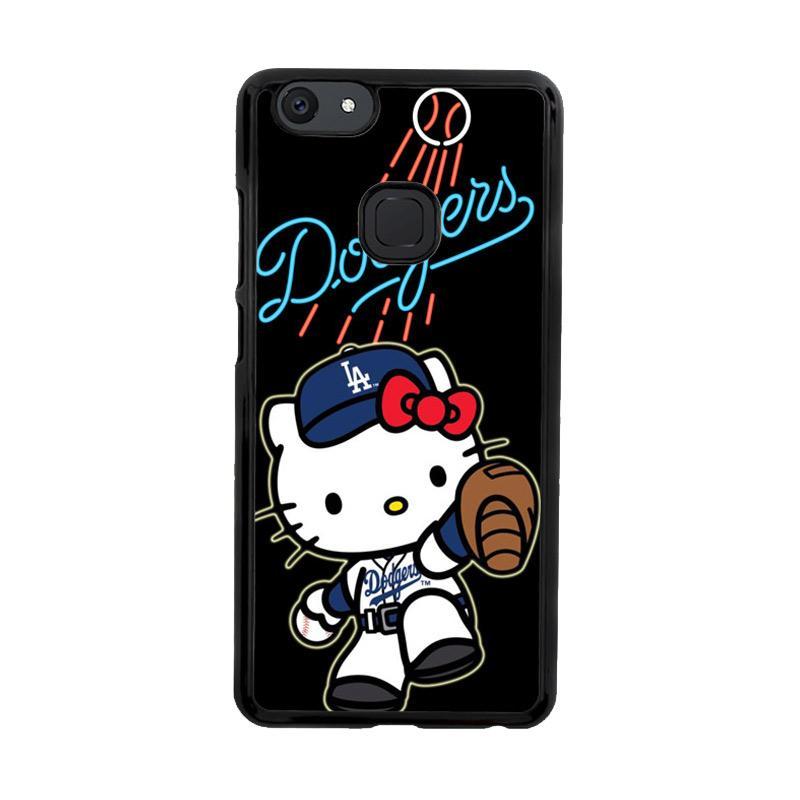 Flazzstore La Dodgers Hello Kitty Z3306 Custom Casing for Vivo V7 Plus