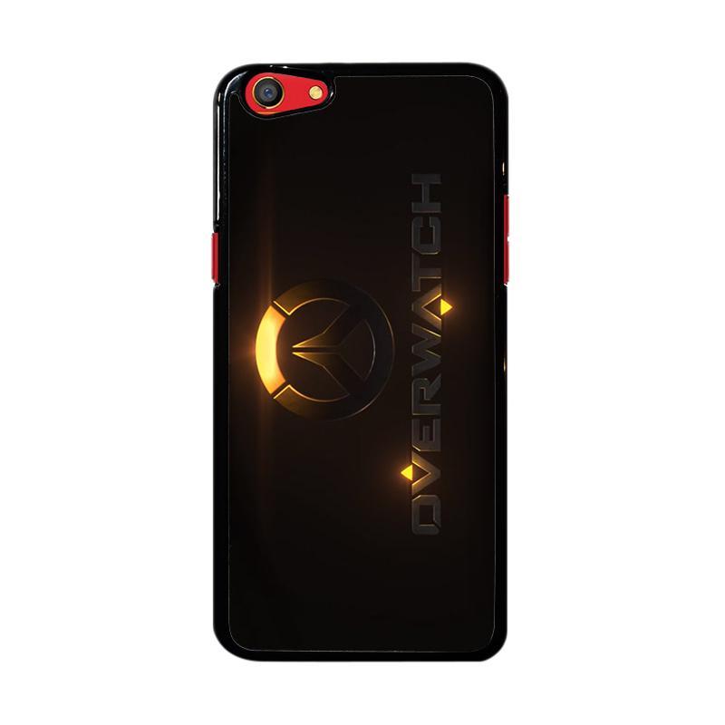Flazzstore Overwatch Logo Z4295 Custom Casing for Oppo F3