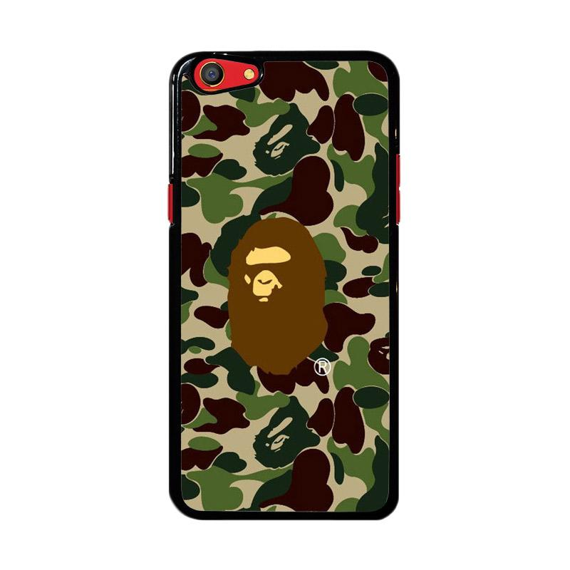Flazzstore Bape Logo Army Z4348 Custom Casing for Oppo F3