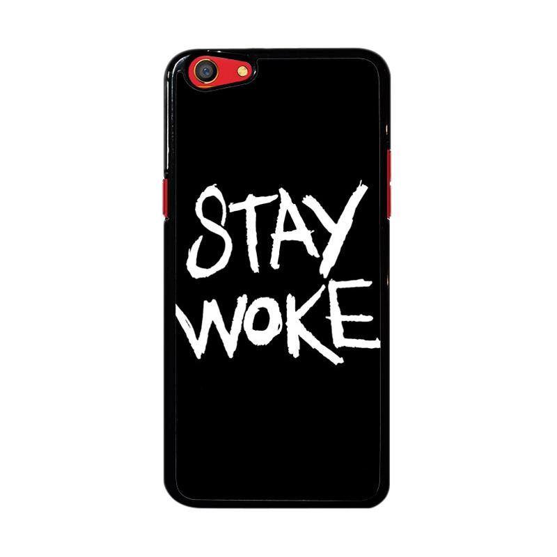 Flazzstore Stay Woke Z4826 Custom Casing for Oppo F3