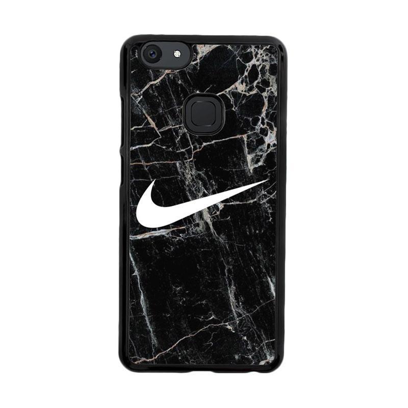 Flazzstore Nike Black Marble Z5384 Custom Casing for Vivo V7 Plus