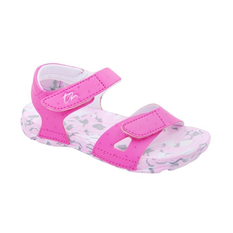 Toezone Kids Kei Ch Flora Camo Sepatu Sandal Anak