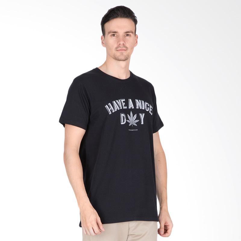 Tendencies Nice Day T-Shirt Pria - Black