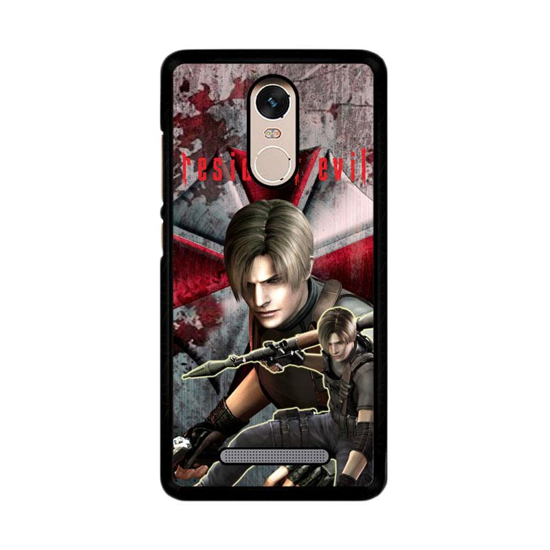 Flazzstore Resident Evil Leon Z3327 Custom Casing for Xiaomi Redmi Note 3 or 3 Pro
