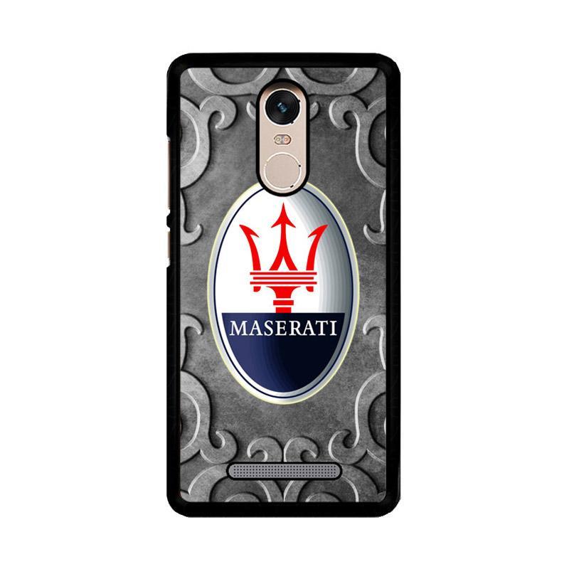 Flazzstore Maserati Z3355 Custom Casing for Xiaomi Redmi Note 3 or Note 3 Pro