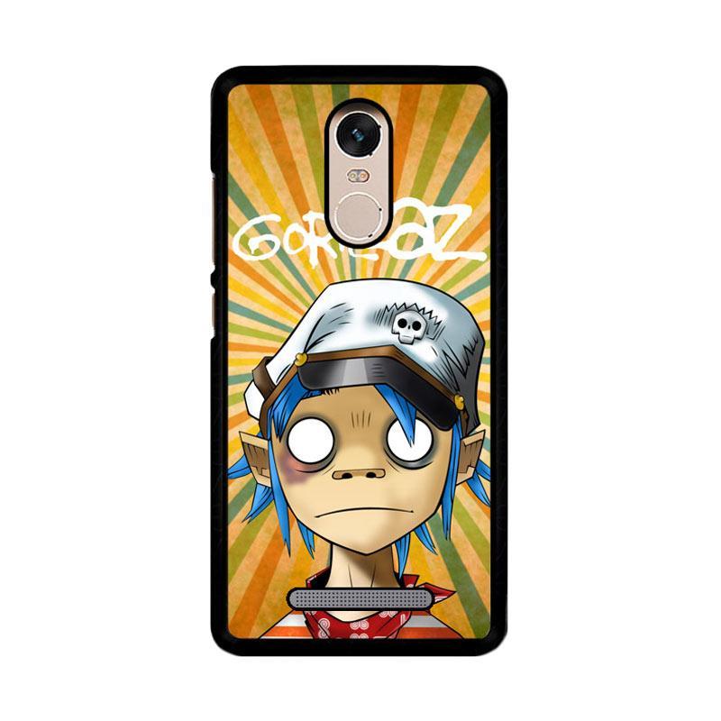 Flazzstore Gorillaz Z3408 Custom Casing for Xiaomi Redmi Note 3 or Xiaomi Redmi Note 3 Pro