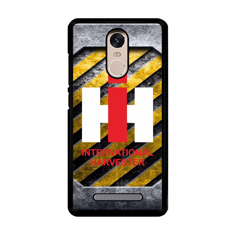 Flazzstore Harvesters Ih Tractor Logo Z3869 Custom Casing for Xiaomi Redmi Note 3 or Note 3 Pro
