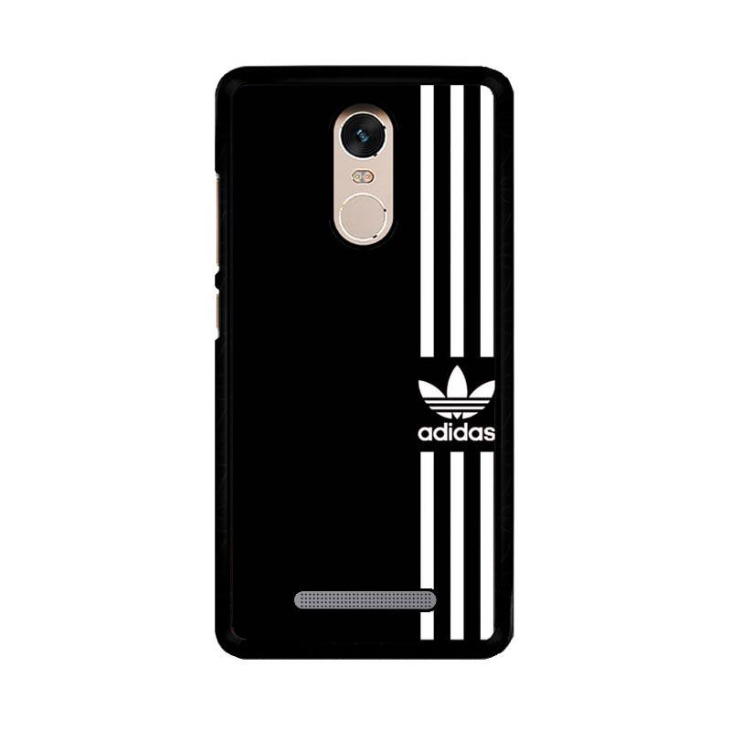 Flazzstore Adidas Logo Black White Z4002 Custom Casing for Xiaomi Redmi Note 3 or Note 3 Pro