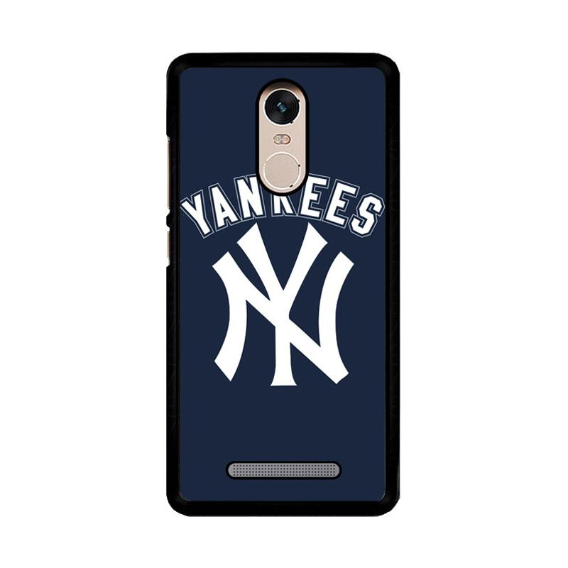 Flazzstore Mlb New York Yankees Z4124 Custom Casing for Xiaomi Redmi Note 3 or Note 3 Pro