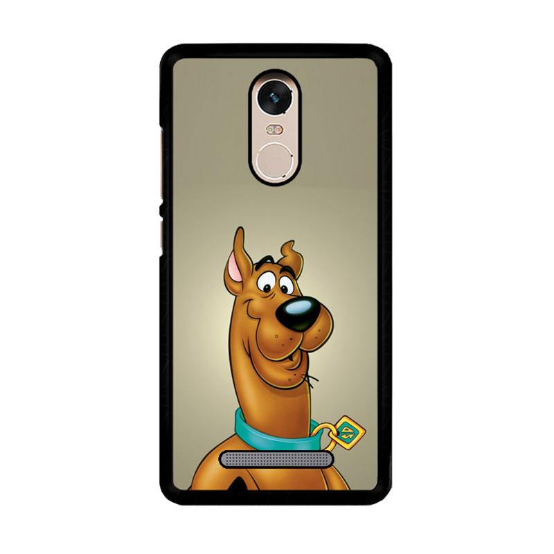 Flazzstore Scooby Doo Face Z4301 Custom Casing for Xiaomi Redmi Note 3 or Note 3 Pro