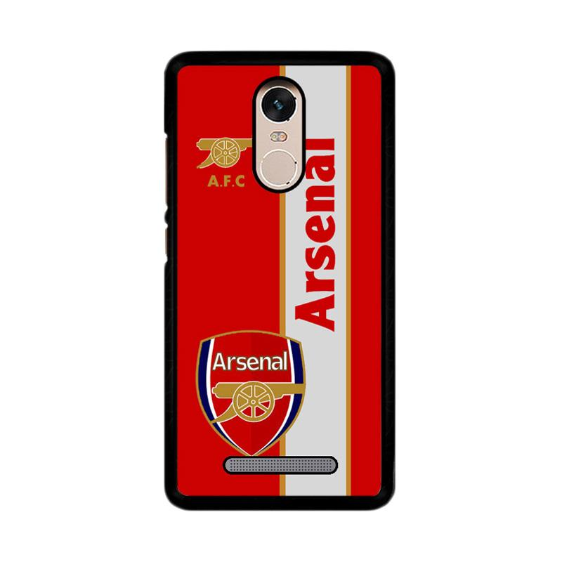 Flazzstore Arsenal Logo Red Z4340 Custom Casing for Xiaomi Redmi Note 3 or Note 3 Pro