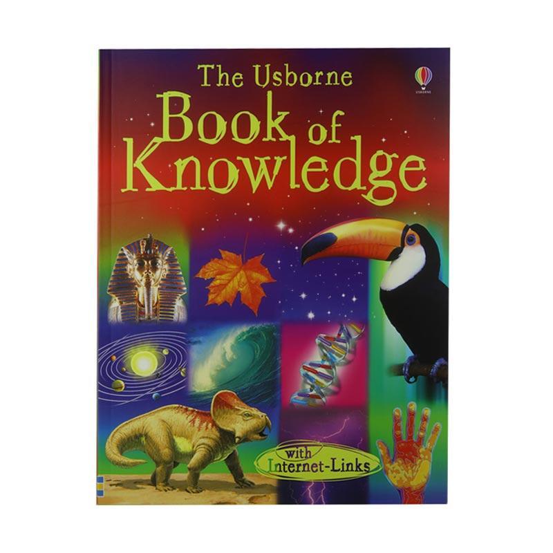 Usborne Books Book of Knowledge by Emma Helbrough Buku Anak