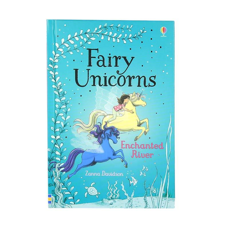 Usborne Books Fairy Unicorns Enchanted River by Zanna Davidson Buku Anak