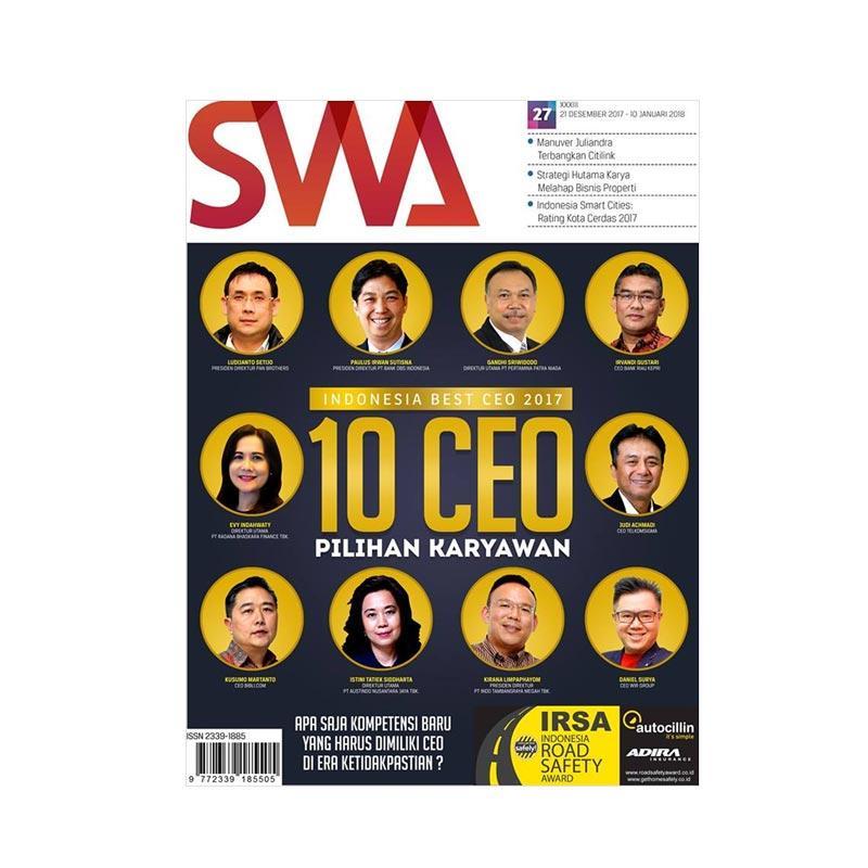 SWA Edisi 272017 Best CEO 2017 Majalah Bisnis