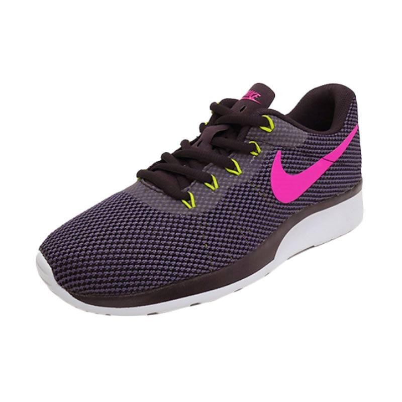 NIKE Tanjun Racer Womens Sepatu Lari Wanita - Navy Pink [921668600]
