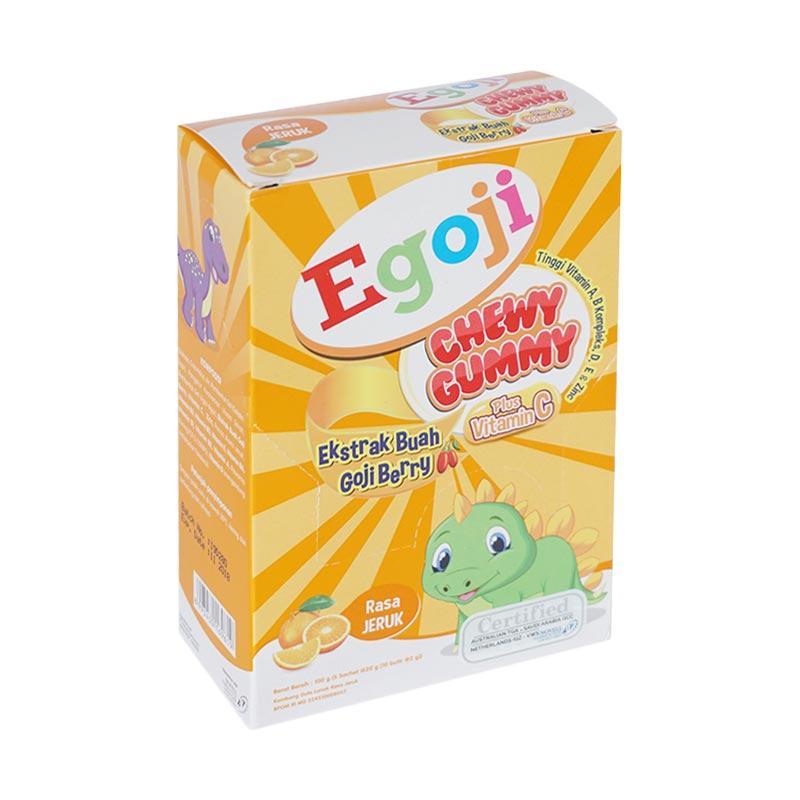 Egoji Gummy Orange Multivitamin Anak [1 pack/ 5 pcs]