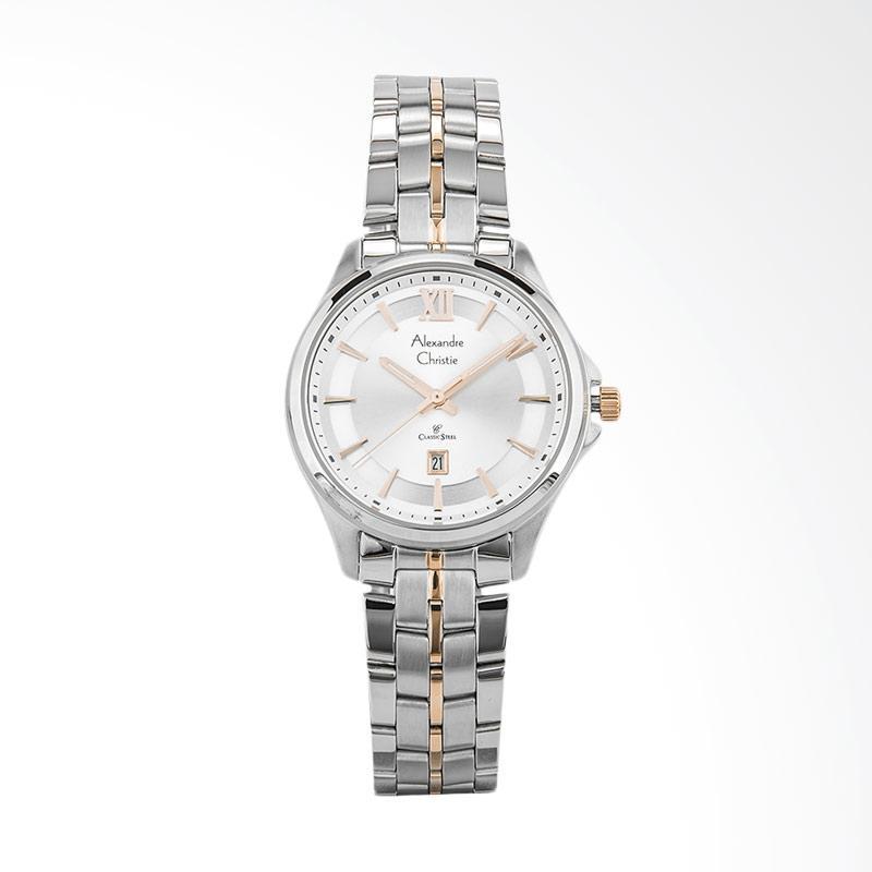 Alexandre Christie Classic Ladies AC 8530 LD BTRSL Jam Tangan Wanita - Silver
