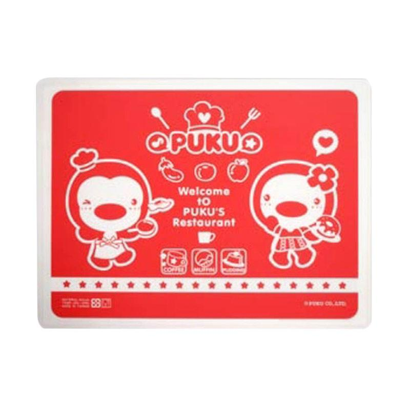 Puku P14325 Silicone Place Mat - Red