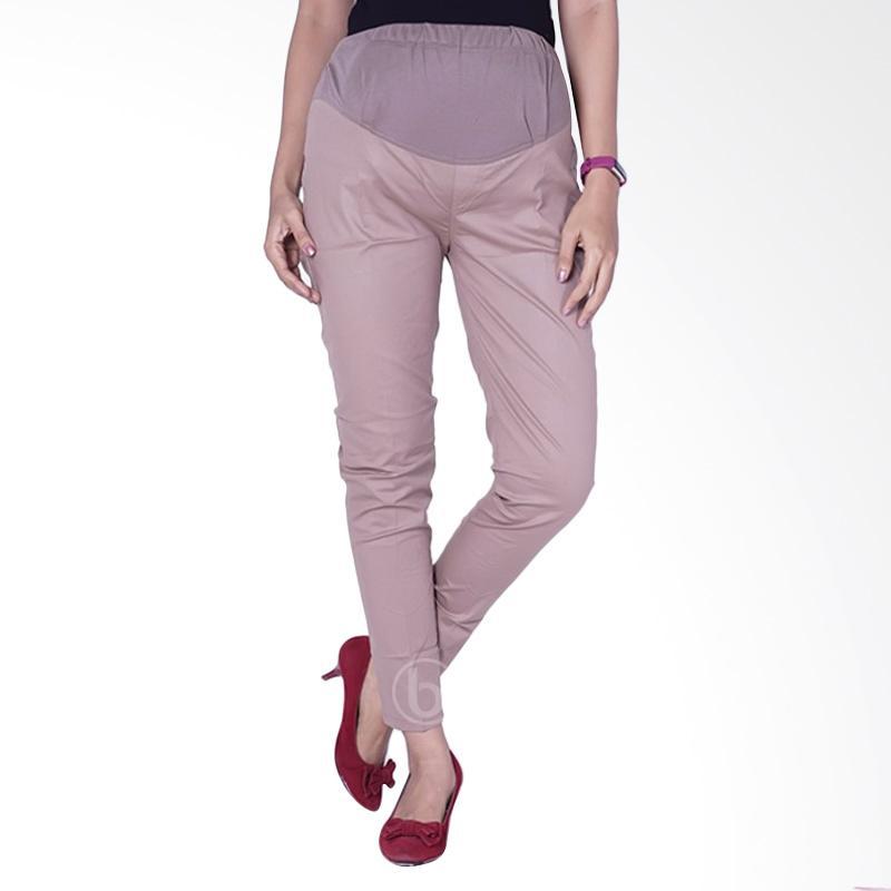 harga Mama Hamil CLO 31 Poppin stretch KP Pincil Celana Kerja Hamil - Cream Blibli.com