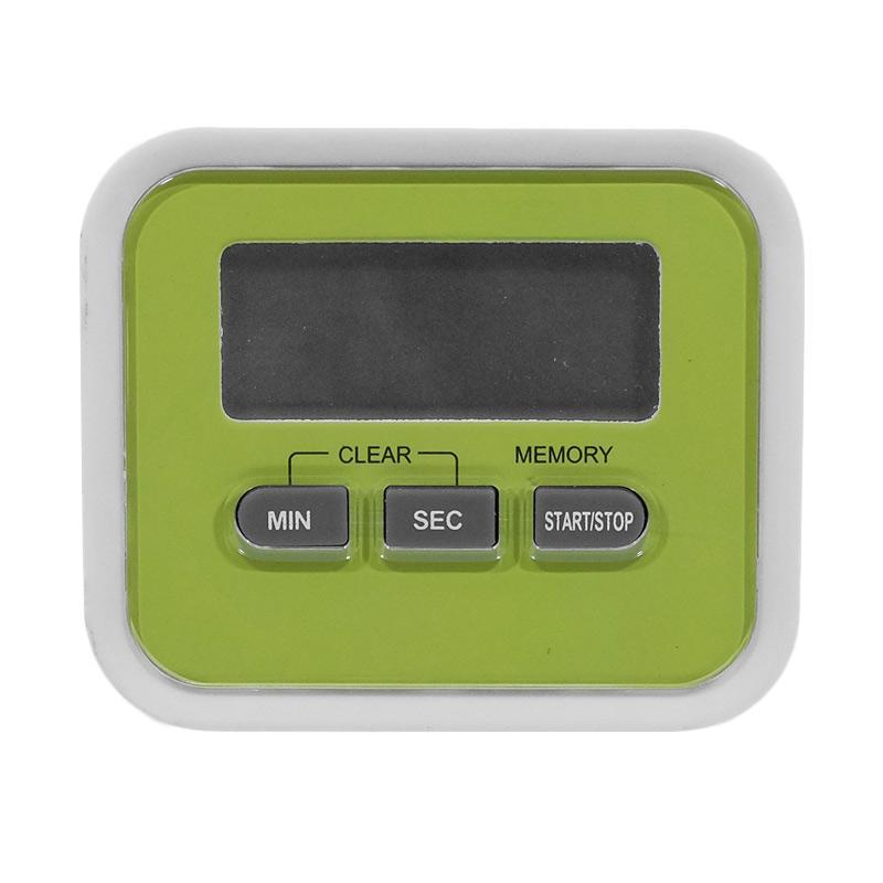 Worcas DT005 Kitchen Digital Timer - Hijau