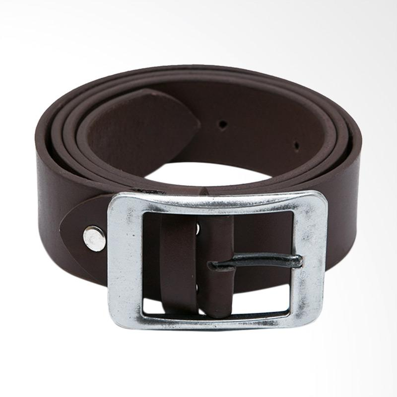 Tendencies Vintage Belt Ikat Pinggang - Brown
