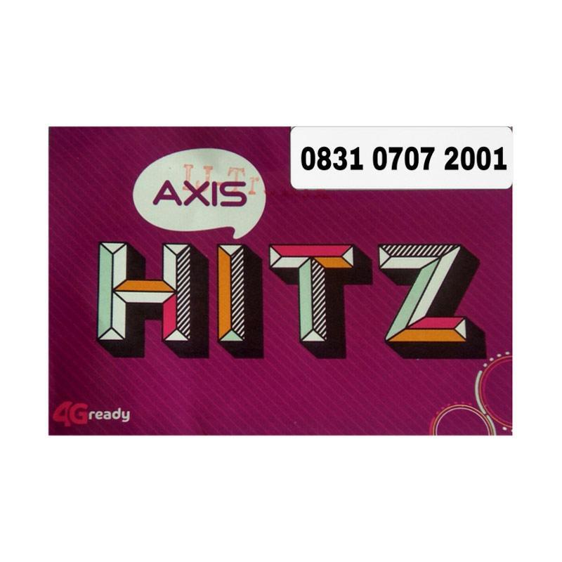 Axis Seri Tahun Nomor Cantik 0831 0707 2001 Kartu Perdana