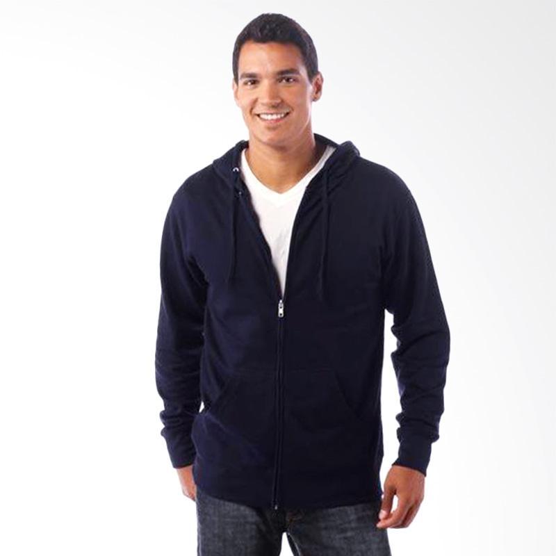 Jual Refill Stuff Hoodie Polos Jaket Pria - Navy Online - Harga & Kualitas Terjamin | Blibli.com