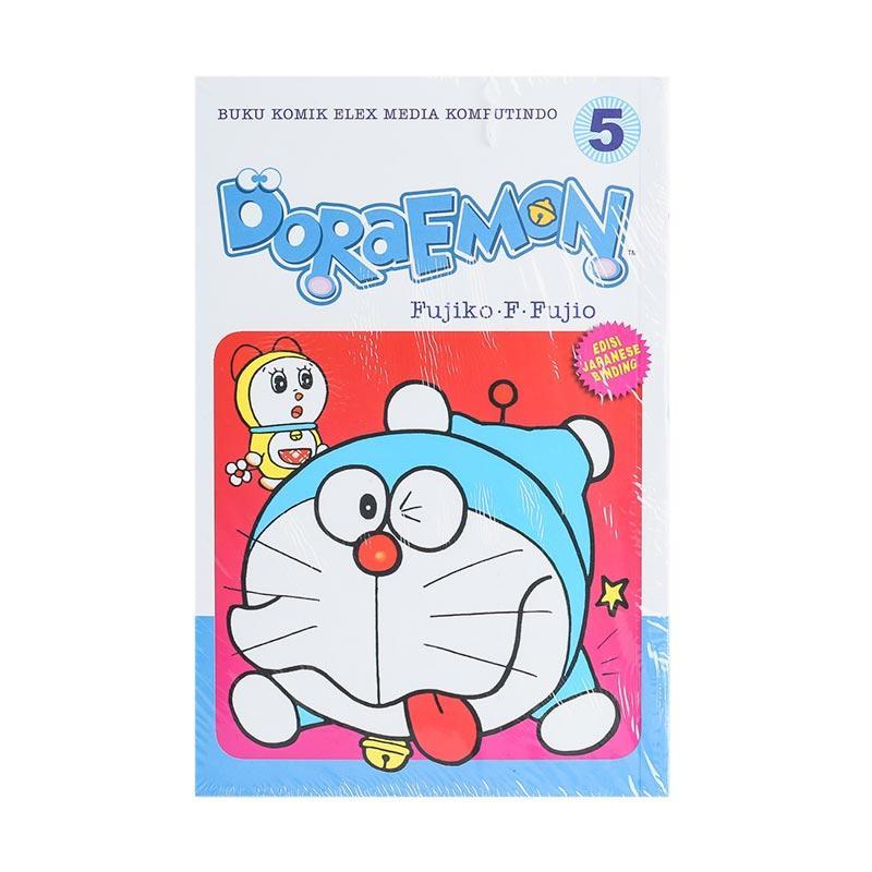 Elex Media Komputindo Doraemon 05 200489050 by Fujiko F. Fujio Buku Komik [Terbit Ulang]