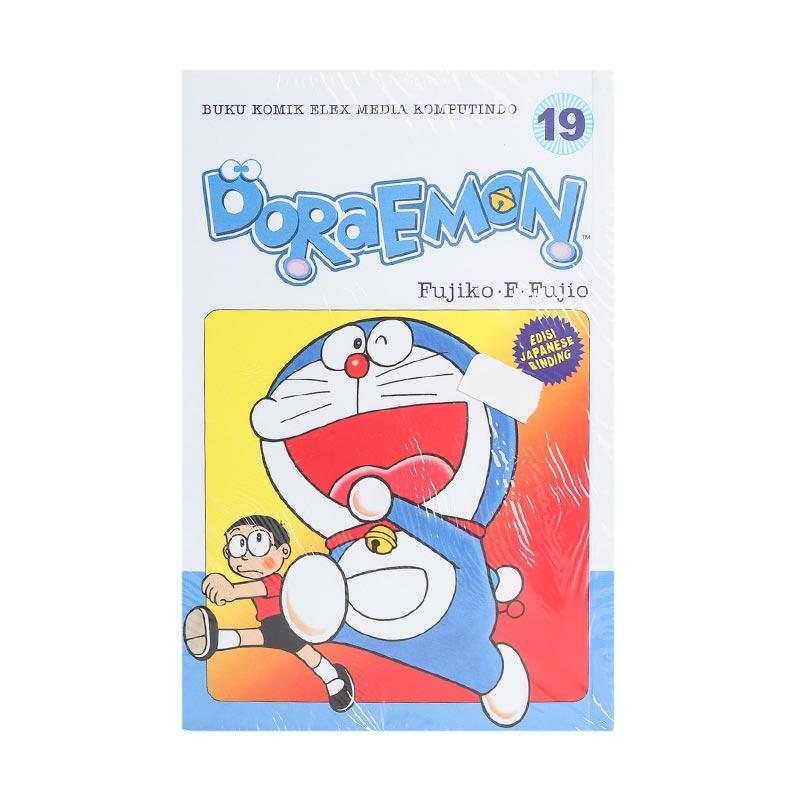Elex Media Komputindo Doraemon 19 202111626 by Fujiko F. Fujio Buku Komik [Terbit Ulang]