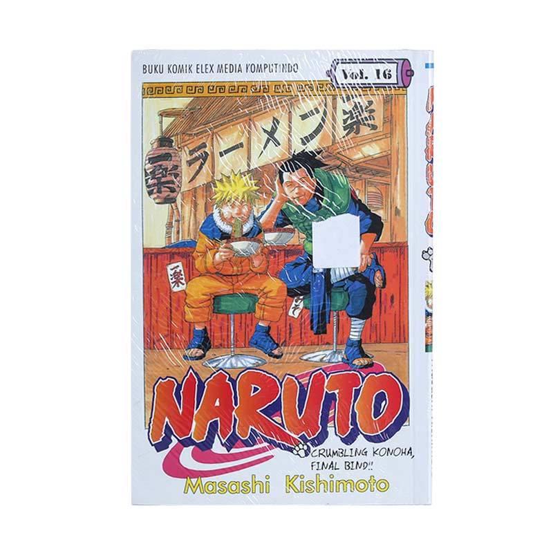 Elex Media Komputindo Naruto 16 200018986 by Masashi Kishimoto Buku Komik