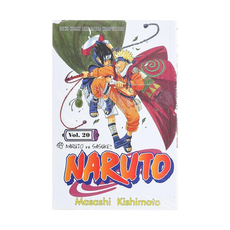 Elex Media Komputindo Naruto 20 200018699 by Masashi Kishimoto Buku Komik