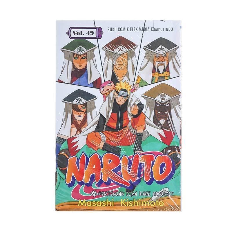 Elex Media Komputindo Naruto 49 200276856 by Masashi Kishimoto Buku Komik