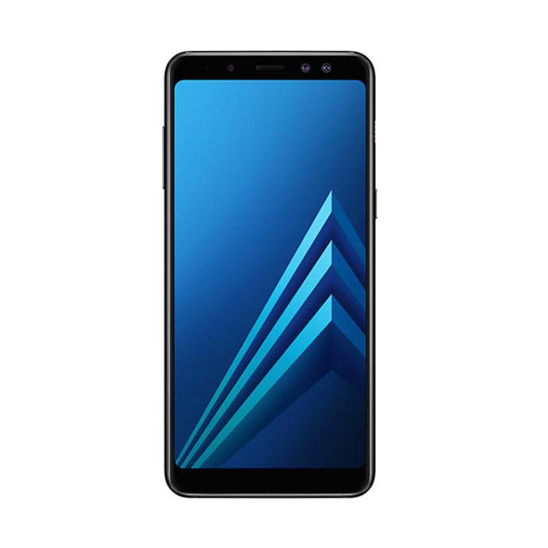 harga Samsung Galaxy A8 2018 Smartphone - Hitam [32 GB/ 4 GB/ LTE] Blibli.com