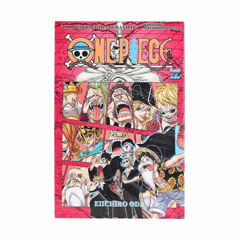 Elex Media Komputindo One Piece 71 203713332 by Eiichiro Oda Buku Komik
